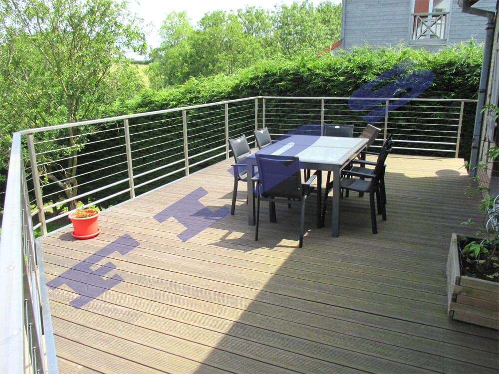Barriere Terrasse Cable ~ Zimerfrei.com = Idées de Design Pour Les ...