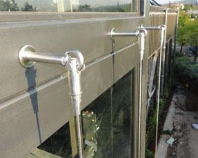 Cables inox pour plantes grimpantes