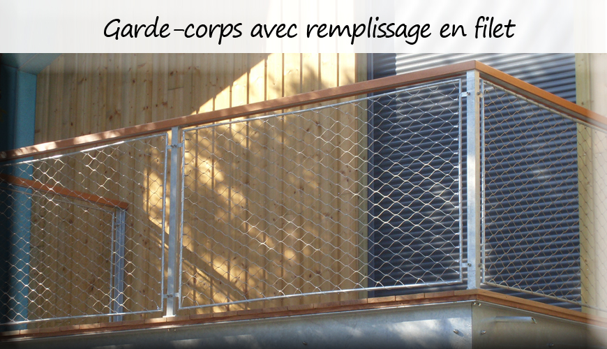 exemples de r alisations garde corps inox filet inox support inox plantes grimpantes inox. Black Bedroom Furniture Sets. Home Design Ideas